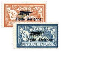 n°1/2* - Timbre France Poste aérienne