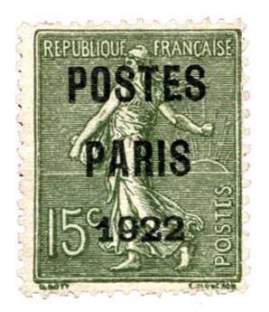 n°31(*) - Timbre France Préoblitérés