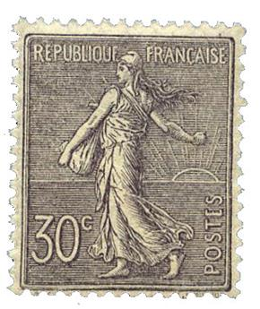 n° 133a -  Timbre France Poste