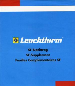 FRANCE BLOC SOUVENIR SF : 2008 (avec pochettes) LEUCHTTURM