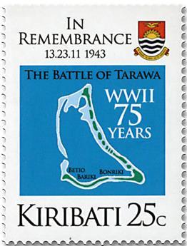 n° 779/780 - Timbre KIRIBATI Poste