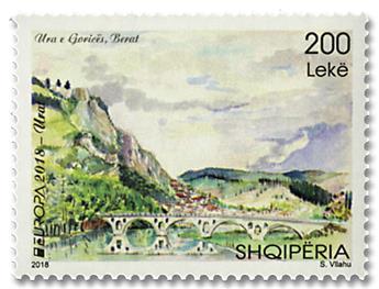 n° 3239 - Timbre ALBANIE Poste (EUROPA)