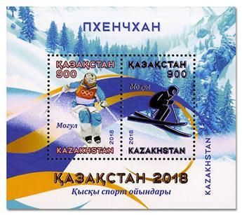 n° 104 - Timbre KAZAKHSTAN Blocs et feuillets