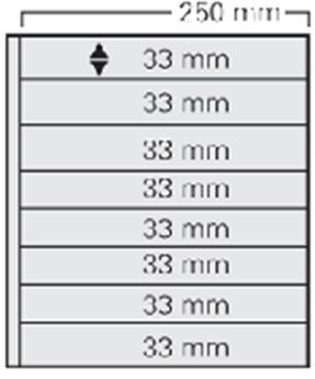 FEUILLE GARANT BLANC (x5) SAFE® (Ref 728)