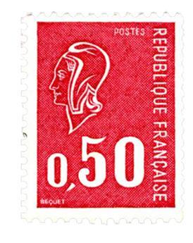 n° 1664b -  Selo França Correios