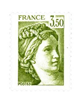 n° 2121a -  Selo França Correios