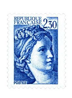 n° 2156b -  Selo França Correios