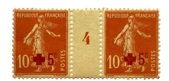 n°146* - Timbre FRANCE Poste