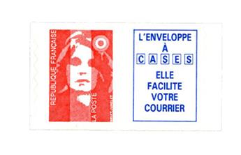 nr. 8a -  Stamp France Self-adhesive
