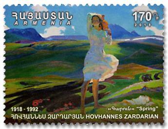 n° 921/922 - Timbre ARMENIE Poste