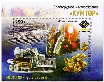 n° 84 - Timbre KIRGHIZISTAN (Poste Kirghize) Blocs et feuillets