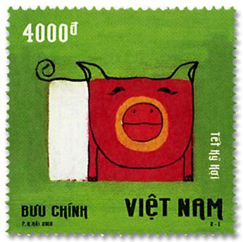 n° 2570/2571 - Timbre VIETNAM Poste