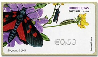 n° 224 - Timbre PORTUGAL Timbres de distributeurs