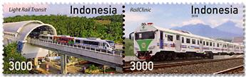 n° 2898/2899 - Timbre INDONESIE Poste