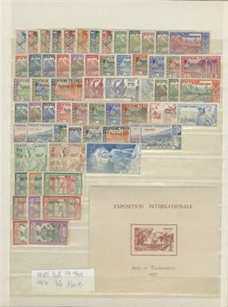ININI : Collection 1932/1944 **/*/obl.
