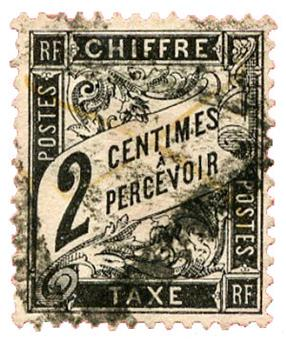 n°11 obl. - Timbre FRANCE Taxe
