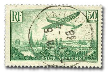 n.o 14 -  Sello Francia Correo aéreo