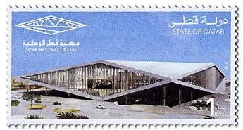 n° 1035/1036 - Timbre QATAR Poste