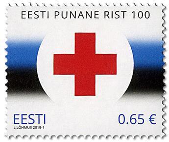 n° 868 - Timbre ESTONIE Poste