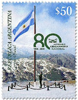 n° 3181 - Timbre ARGENTINE Poste
