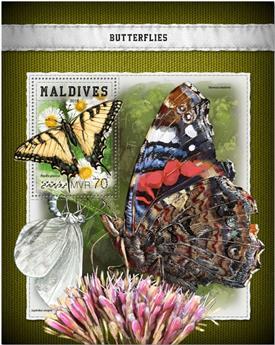 n° 1159 - Timbre MALDIVES Blocs et feuillets