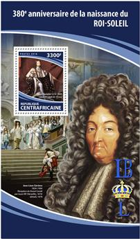 n° 1245 - Timbre CENTRAFRICAINE III - Carnets de Timbres à composition variable