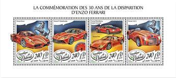 n° 1868/1871 - Timbre DJIBOUTI Poste