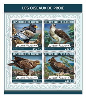 n° 1948/1951 - Timbre DJIBOUTI Poste