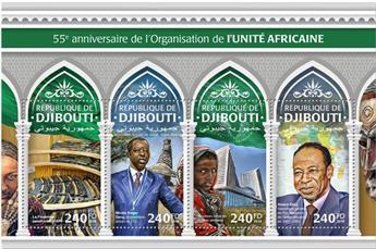 n° 2008/2011 - Timbre DJIBOUTI Poste