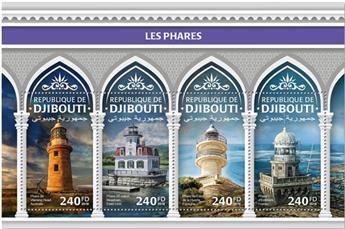 n° 2048/2051 - Timbre DJIBOUTI Poste