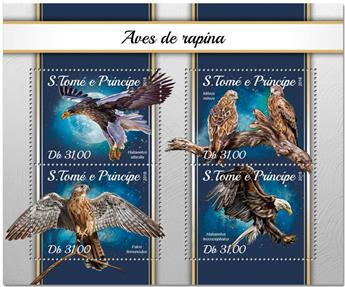 n° 6025/6028 - Timbre SAINT-THOMAS ET PRINCE Poste