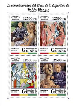 n° 9108/9111 - Timbre GUINÉE Poste