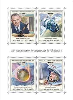 n° 9448/9451 - Timbre GUINÉE Poste