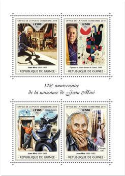 n° 9468/9471 - Timbre GUINÉE Poste