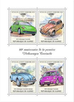 n° 9488/9491 - Timbre GUINÉE Poste
