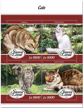 n° 7589/7592 - Timbre SIERRA LEONE Poste