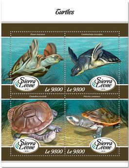n° 7629/7632 - Timbre SIERRA LEONE Poste