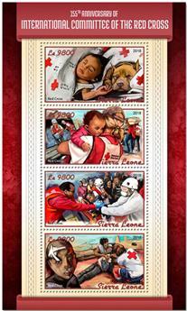 n° 7709/7712 - Timbre SIERRA LEONE Poste