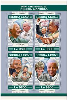 n° 7753/7756 - Timbre SIERRA LEONE Poste