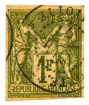 n°29 obl. B - Timbre COLONIES Colonies Générales
