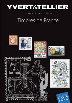 TOME 1 - 2020 (Catalogue des Timbres de France)