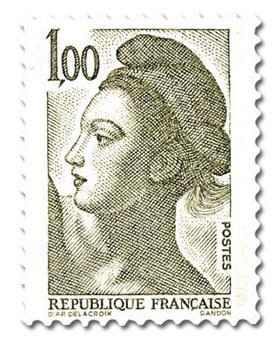 n° 2185 -  Selo França Correios