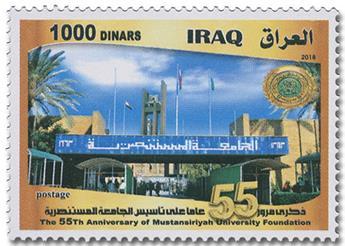 n° 1882 - Timbre IRAK Poste