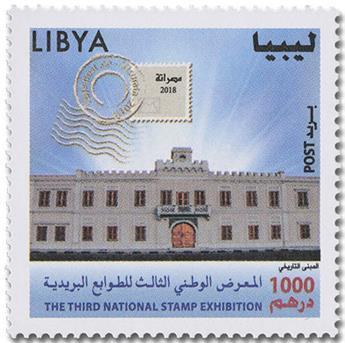 n° 2708 - Timbre LIBYE Poste