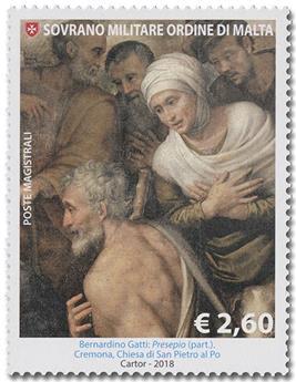n° 1476/1477 - Timbre ORDRE de MALTE Poste
