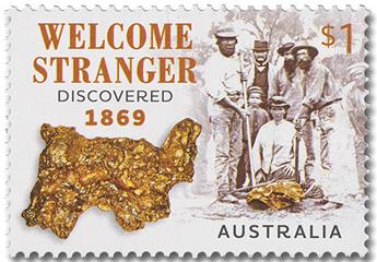 n° 4730 - Timbre AUSTRALIE Poste