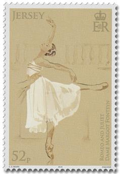 n° 2380/2385 - Timbre JERSEY Poste