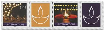 n° 1638/1639 - Timbre ONU NEW YORK Poste