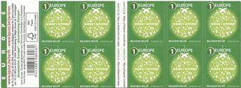 n° C4538 - Timbre BELGIQUE Carnets