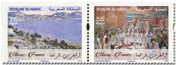 n° 1827/1828 - Timbre MAROC Poste